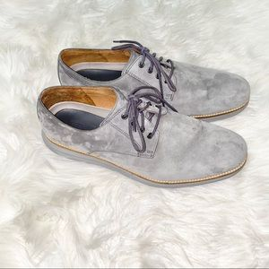 Cole Haan Oxford grey dressy shoes sz 12